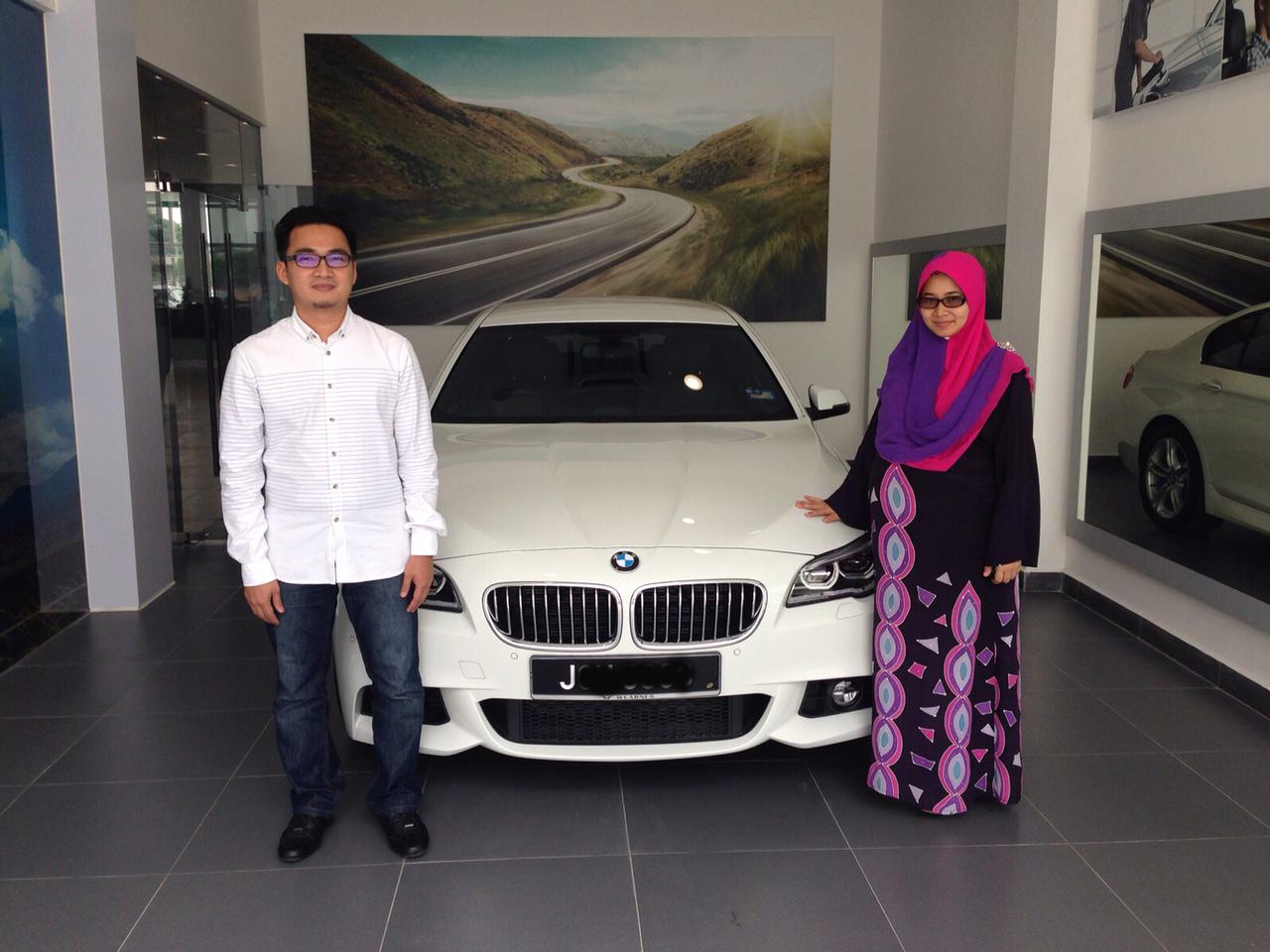 najib asaddok BMW 528i M Sport